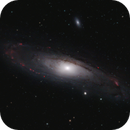 Andromeda galaxy (M31) in HaRGB,                                Stijn