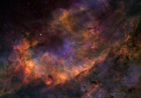 Unnamed nebula in the large Sadr nebula complex,                                Manuel Huss