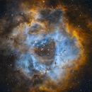 Rosette Nebula in SHO,                                Rathi Banerjee