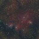Lagoon nebula and NGC 6559,                                Máximo Bustamante