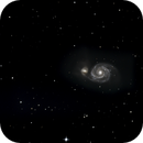 M51 Whirlpool Galaxy,                                  TwoMikes
