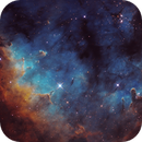 NGC7822 SHO 2 Panel Mosaic,                                  Christopher Gomez
