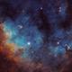 NGC7822 SHO 2 Panel Mosaic,                                  Christopher Gomez