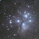 M45 The Pleiades star cluster,                                Kiyoshi Imai