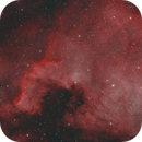 NGC7000 - ZWO Duo-Band Filter,                                Andrew Burwell