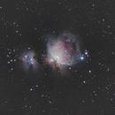 M42, the Orion Nebula and Sh2-279, the Running Man Nebula,                                Dean Studebaker