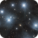 Closeup of M45,                                  Scotty Bishop