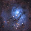 A Blue Lagoon in NIR/G+B/Ha-NIR,                                Christopher Gomez