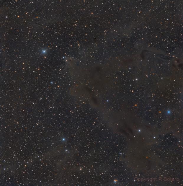 LBN 468 - LRGB - including Gyulbudaghian's Nebula,                                Roberto Botero