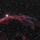 The Western Veil Nebula,                                  Samuel Granovsky
