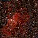 M16 (NGC6611) Eagle Nebula,                                  brad_burgess