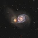 Messier 51,                                Bart Delsaert