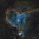 Hearth Nebula SHO with RGB stars,                                Erik Guneriussen