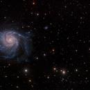 M101 & background galaxies,                                s1macau