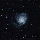 M101 - Pinwheel Galaxy,                                Gendra