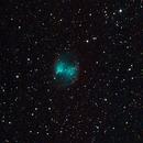 m27 - Nébuleuse de l'haltère - Dumbbell Nebulae,                                William BELLEAU