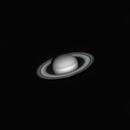 Saturn 2020-10-08. Red filter,                                Pedro Garcia