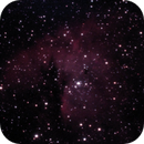 NGC281 - Pacman Nebula - 20201210 - Meade 2045D at F4 - UHC,                                altazastro