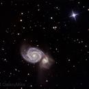 M51 - The Whirlpool Galaxy,                                GalaxyMike