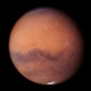 Mars through forest fire smoke,                                Damien Cannane