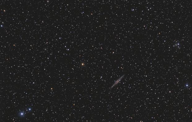 NGC891 and company,                                OrionRider