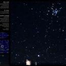 NGC 2516, IC 2220  &  Epsilon Carinae,                                heriton