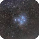 M45 Pleaides Cluster with Samyang Lens,                                Carastro