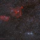 NGC 7008 - IC 1805 - DOUBLE CLUSTER,                                RAMON ESPAX