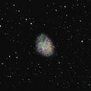 The Crab Nebula,                                Jean-Marie Locci