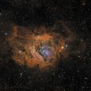 Lagoon Nebula M8,                                Jeff Clayton