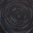 Trazos de Estrellas (Star Trail) 26-Dic-2013,                                Alfredo Beltrán