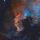 The Cygnus Wall, H,H+O,O Palette using Colour Sensor,                                AstroPhotoRoss