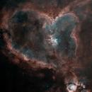 IC1805 Heart Nebula Starnet Revision,                                  TimothyTim