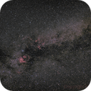 Cygnus - my first widefield with Astro-CCD,                                MicRaWi