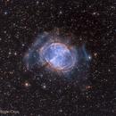 M27 Dumbbell Nebula (HOO) Crop,                                Philippe Oros