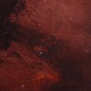 Part of North American Nebula,                                lo_astro