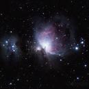M42 Orion Nebula,                                Kuulapaa