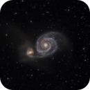 """M 51 with """"Supernova Imposter"""" SN AT2019abn,                                  Alex Roberts"""