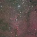 IC1396 L RGB Ha,                                Станция Албирео