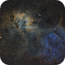 SH2-132 The Lion Nebula,                                Ohills