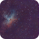 Messier 16 and the pillars of creation,                                Sodonaut