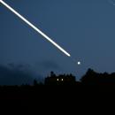 Jupiter's trail on Chiantishire,                                  Stefano Tognaccini