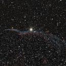 NCG6960 The Western Veil Nebula,                                Jeff Dorman