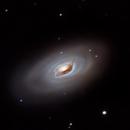 Messier 64 - The Black Eye Galaxy - Full Moon Galaxy Quest Part 3,                                Timothy Martin & Nic Patridge