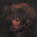 Cederblad 214, NGC7822 - HaRGB - 2x2 mosaic,                                Roberto Botero