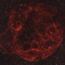 Simeis 147 / Sh2-240 / Spaghetti nebula in HaRGB,                                Volker Gutsmann
