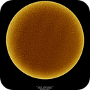 Solar Disc, Inverted, HA, 10-15-2018,                    Martin (Marty) Wise