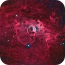 Bubble Nebula,                                Yves