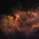 Soul Nebula (IC1871 & IC1848) narrowband,                                HaSeSky