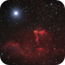 Gamma Cassiopeae Nebula IC59, IC63  in Ha-RGB,                                Rolf Dietrich